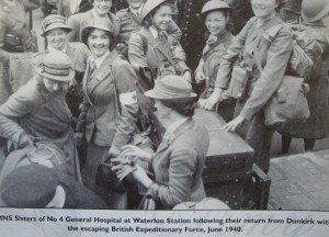 think the original may be in the Hulton Picture Archive, though it apeared in a number of newspapers at the time. propagation of news was slower then, so personnel were back home whilst the story was still breaking.