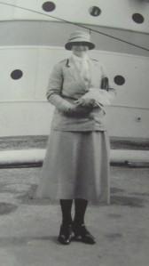 QAIMNS costume circa 1933